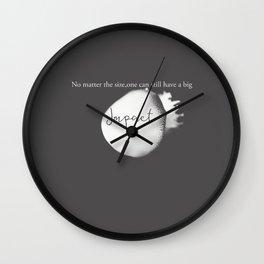 Impact Wall Clock