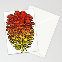 Gradient Cone Stationery Cards