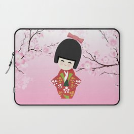 Kokeshi Red Laptop Sleeve