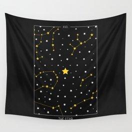 The Star - Tarot Illustration Wall Tapestry
