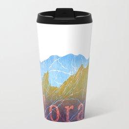 Colorado Mountain Ranges_Boulder Flat Irons + Continental Divide Travel Mug