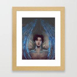 suho angel Framed Art Print