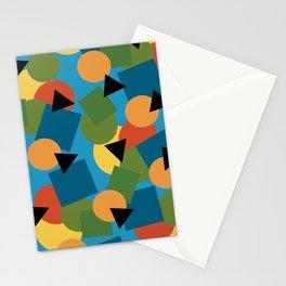 Geo-Toss Stationery Cards
