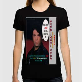 "The Tony 'Tex' Watt Jango Radio ""Plugged"" Album Poster T-shirt"