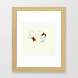 UnHuman#03 Framed Art Print
