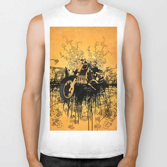 Steam motorcycle Biker Tank