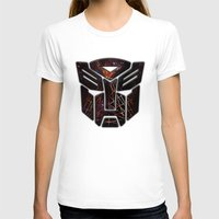 transformers T-shirts featuring Autobots Abstractness - Transformers by DesignLawrence