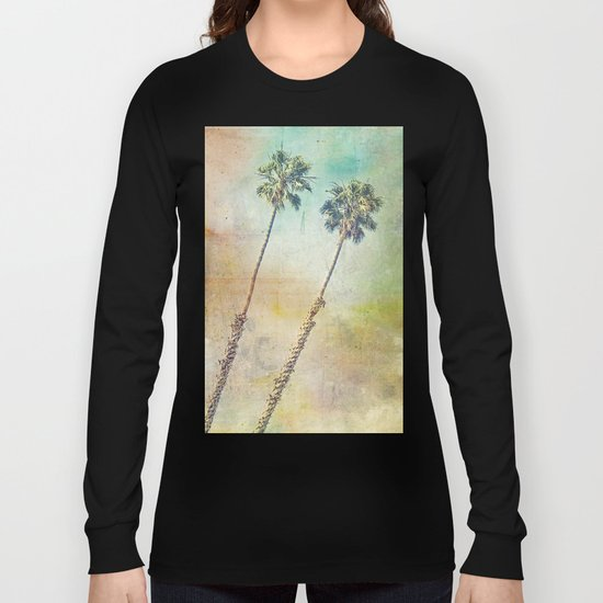 Pastel Palms Long Sleeve T-shirt