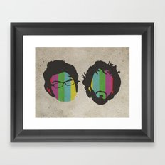 Flight of the Conchords Framed Art Print