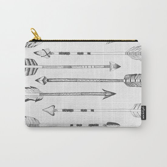 Hand drawn arrows Carry-All Pouch