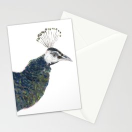 Lovely Peacocks Stationery Cards