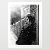 bucky barnes Art Prints featuring -Bucky- by JEUDI