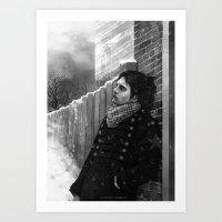 bucky Art Prints featuring -Bucky- by JEUDI