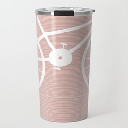 Pink Bike by Friztin Travel Mug
