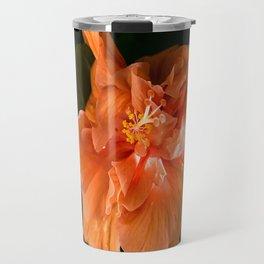 Apricot Hibiscus Travel Mug