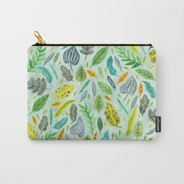 Leaves floating in the water Carry-All Pouch