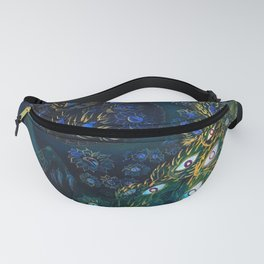 BLUE BRANCHES Fanny Pack