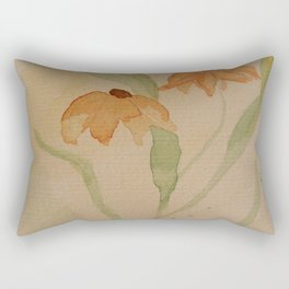Dog Daisy Rectangular Pillow