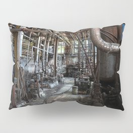 Dark and Abandoned Industry Pillow Sham