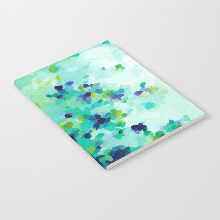 Aquamarine Addiction Notebook