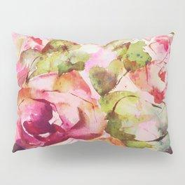 roses abstraites Pillow Sham