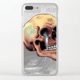 Zia Skull Clear iPhone Case