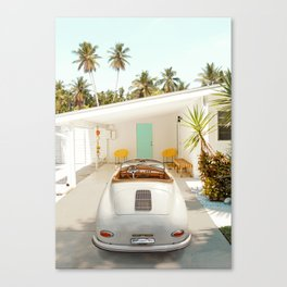 The Getaway House Canvas Print