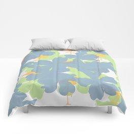 Primroses  Orange Flamingos Comforters