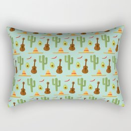 Mexican style Rectangular Pillow