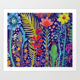 in the migthy jungle Art Print