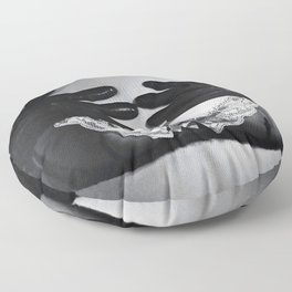 Hell for leather Floor Pillow