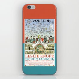 Leslie Knope for City Council - Parks and Recreation Dept. iPhone Skin
