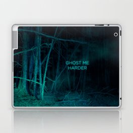 Ghost Me Harder Laptop & iPad Skin