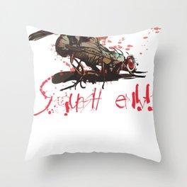 Squash em! Throw Pillow