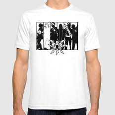 Mystery Men - The Other Guys White SMALL Mens Fitted Tee