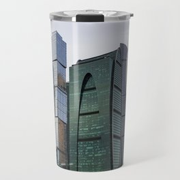 Moscow International Business Centre Travel Mug