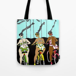 Live in your Swimsuit Tote Bag