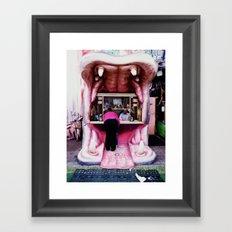 Kirmes Framed Art Print