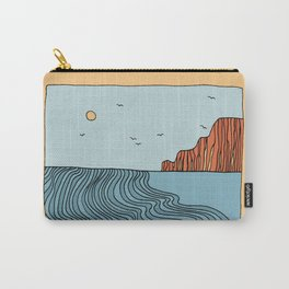 Drifting in the Pacific Carry-All Pouch