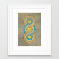infinite Framed Art Prints featuring Infinite by Metron