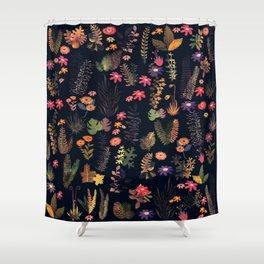 dark florest Shower Curtain