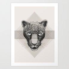 Eternal | Leopard | Neutral Art Print