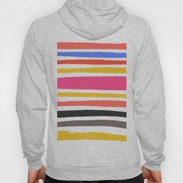 Streifen 001 / Multicolor Stripe Pattern Hoody