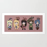 Steampunk Sailor Moon - Inners Art Print