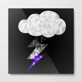 Asexual Storm Cloud Metal Print