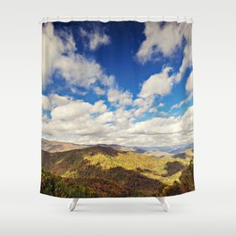 Mountaintop View Shower Curtain