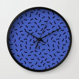 Memphis pattern 39 Wall Clock