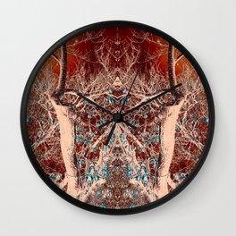 Alien Tree Command Wall Clock