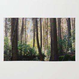 Yosemite woods Rug