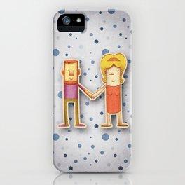 illustrated M iPhone Case
